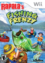 Rapala Fishing Frenzy Wii cover (RTBE52)