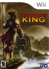 The Monkey King: The Legend Begins Wii cover (RTDE6K)