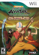 Avatar: The Last Airbender - The Burning Earth Wii cover (RVAE78)