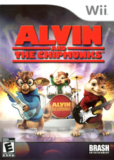 Alvin and the Chipmunks Wii cover (RVBERS)