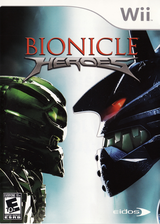 Bionicle Heroes Wii cover (RVIE4F)
