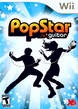 PopStar Guitar Wii cover (RVPEFS)