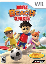 Big Beach Sports Wii cover (RVVE78)