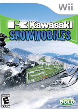 Kawasaki Snowmobiles Wii cover (RWBENR)