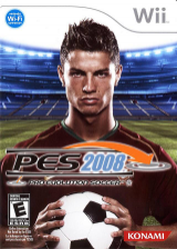 Pro Evolution Soccer 2008 Wii cover (RWEEA4)