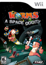 Worms: A Space Oddity Wii cover (RWME78)