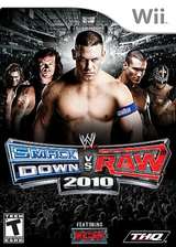 WWE SmackDown vs. Raw 2010 Wii cover (RXAE78)