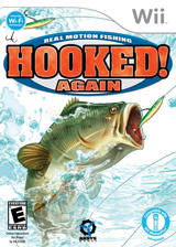 Hooked Again: Real Motion Fishing Wii cover (RXNEXS)