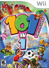 101-in-1 Party Megamix Wii cover (RYEEEB)