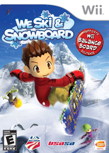 We Ski & Snowboard Wii cover (RYKEAF)