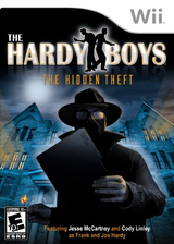 The Hardy Boys: The Hidden Theft Wii cover (RYNE6U)