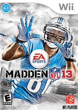 Madden NFL 13 Wii cover (S2ME69)