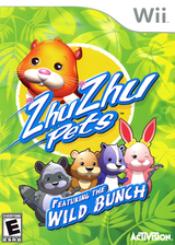 Zhu Zhu Pets: Featuring The Wild Bunch Wii cover (S2ZE52)
