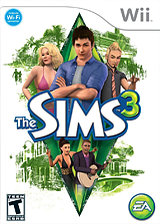 The Sims 3 Wii cover (S3ME69)