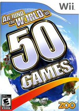 Around The World in 50 Games Wii cover (S5WE20)