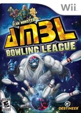 Alien Monster Bowling League Wii cover (SABENR)
