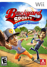 Backyard Sports: Sandlot Sluggers Wii cover (SADE70)