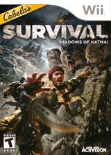 Cabela's Survival: Shadows of Katmai Wii cover (SAJE52)