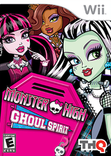 Monster High: Ghoul Spirit Wii cover (SAOE78)
