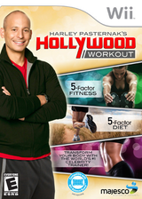 Harley Pasternak's Hollywood Workout Wii cover (SAQE5G)