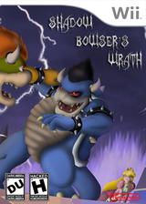 New Super Mario Bros. 3: The Wrath of Shadow Bowser CUSTOM cover (SBWC11)