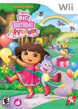 Dora's Big Birthday Adventure Wii cover (SDPE54)