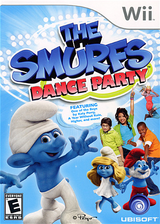 The Smurfs Dance Party Wii cover (SDUE41)