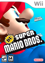 DU Super Mario Bros. : DU Edition CUSTOM cover (SDUEO1)