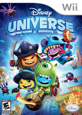 Disney Universe Wii cover (SDXE4Q)