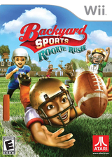 Backyard Sports Football: Rookie Rush Wii cover (SFBE70)
