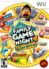 Hasbro: Family Game Night 4 - The Game Show Wii cover (SFGE69)