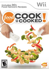Food Network: Cook or Be Cooked Wii cover (SFOEAF)