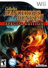 Cabela's Dangerous Hunts 2011: Special Edition Wii cover (SHUE52)