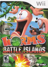 Worms: Battle Islands Wii cover (SILE78)