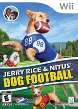 Jerry Rice & Nitus' Dog Football Wii cover (SJCEZW)