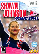 Shawn Johnson Gymnastics Wii cover (SJVE20)