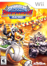 Skylanders: SuperChargers Racing Wii cover (SKNE52)