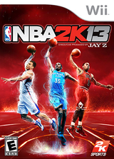 NBA 2K13 Wii cover (SKSE54)