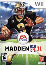 Madden NFL 11 Wii cover (SMEE69)