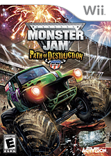 Monster Jam: Path of Destruction Wii cover (SMJE52)