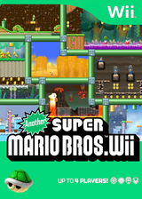 Another Super Mario Bros. Wii CUSTOM cover (SMNE05)