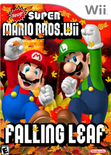 Newer Super Mario Bros. Wii: Falling Leaves CUSTOM cover (SMNE23)