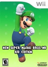 New Super Mario Bros. Wii - Kid Edition CUSTOM cover (SMNE53)