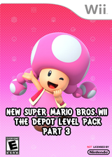 New Super Mario Bros. Wii - The Depot Level Pack Part 3 CUSTOM cover (SMNE56)