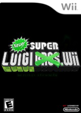 Newer Super Luigi Wii CUSTOM cover (SMNELL)
