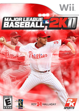 Major League Baseball 2K11 Wii cover (SMVE54)