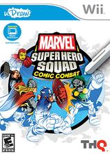 Marvel Super Hero Squad: Comic Combat Wii cover (SMZE78)