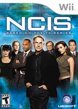 NCIS: The Game Wii cover (SNBE41)