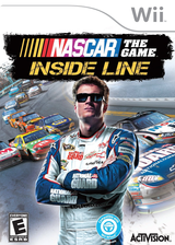NASCAR The Game: Inside Line Wii cover (SNPE52)