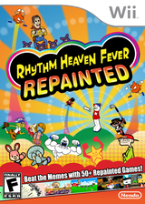 Rhythm Heaven Fever Repainted CUSTOM cover (SOME02)